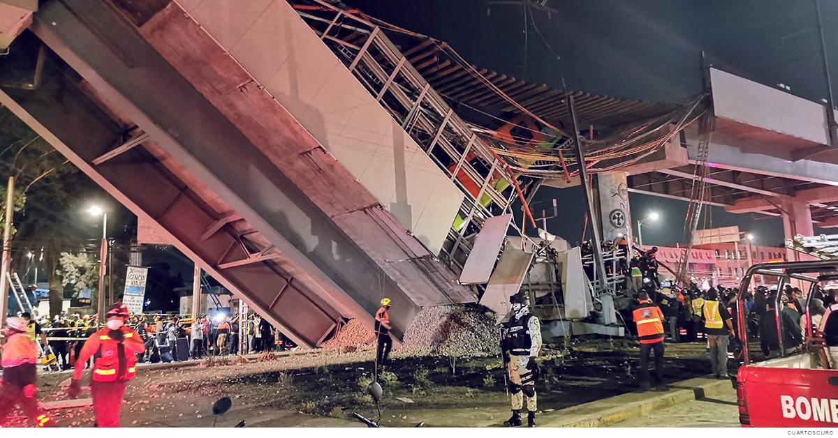 Accidente en la Línea 12 del metro