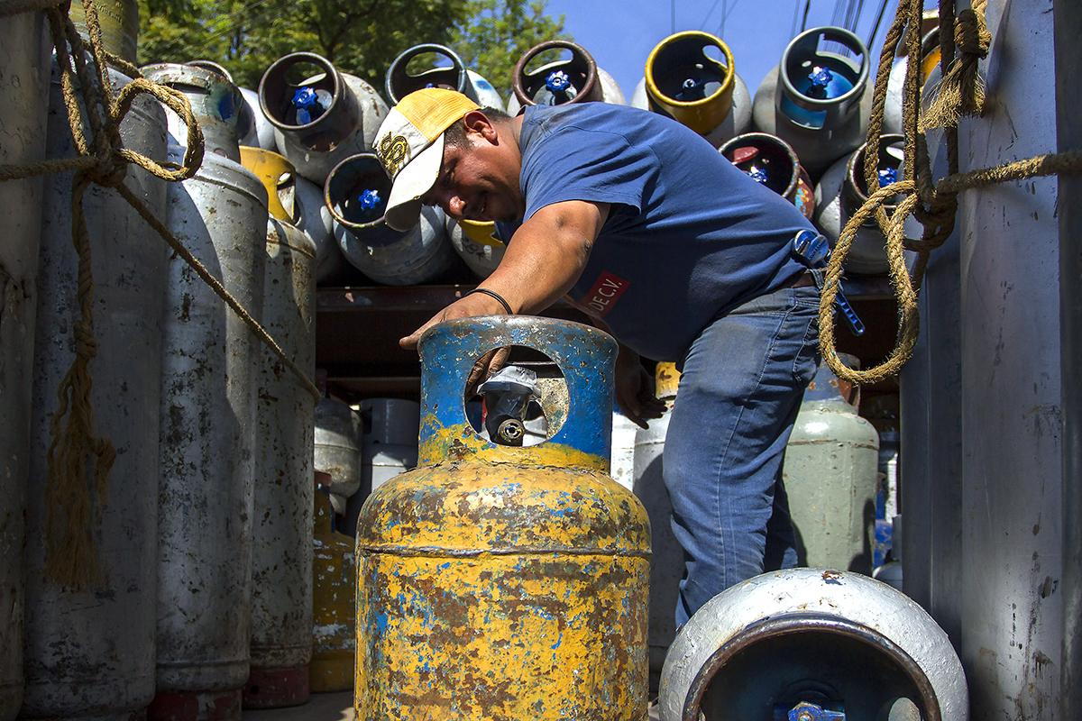 tanques de gas