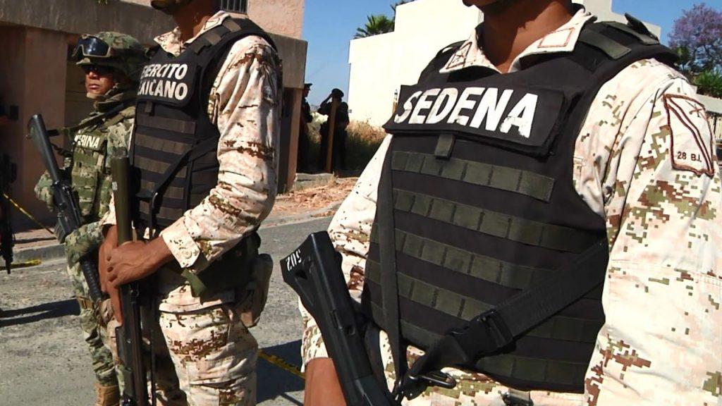 Elementos de la Sedena combaten la criminalidad en el país