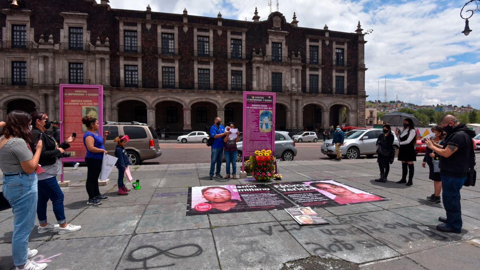 Piden justicia por del feminicidio de la niña Fátima Varinia