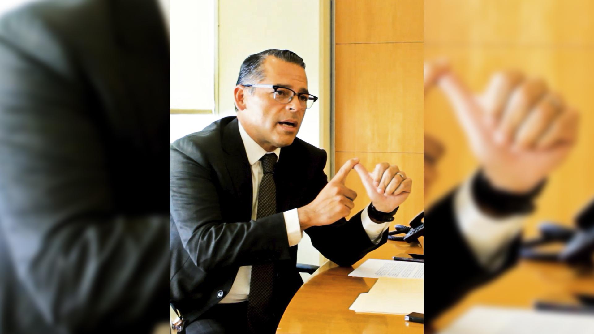 magistrado presidente del Tribunal Superior de Justicia de la entidad, Héctor Sánchez Sánchez