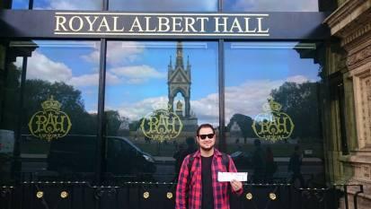 Royal Albert Hall/Arquivo Pessoal