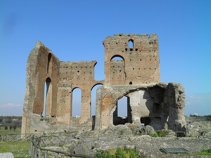 Banhos, Villa dei