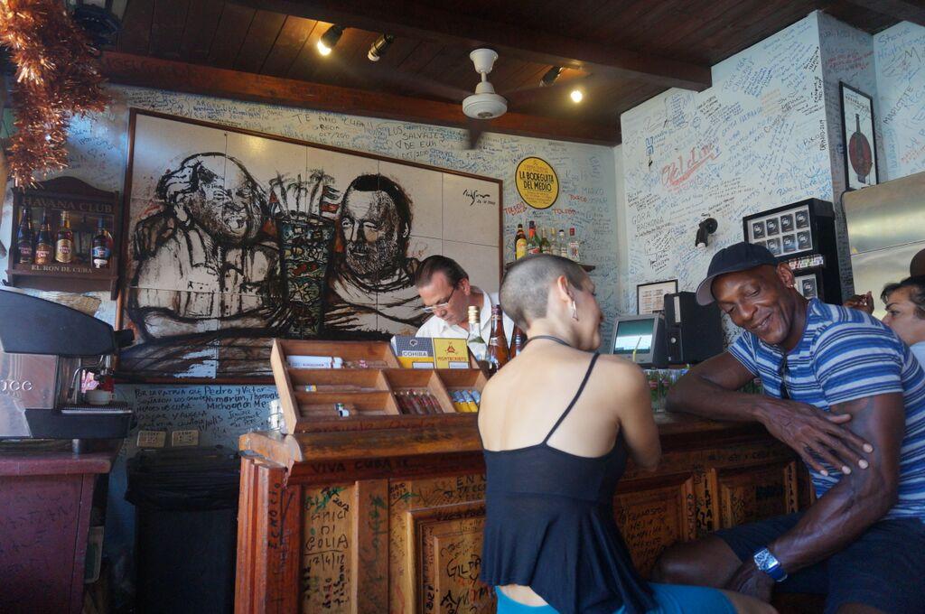 Bodeguita del Medio - Havana.