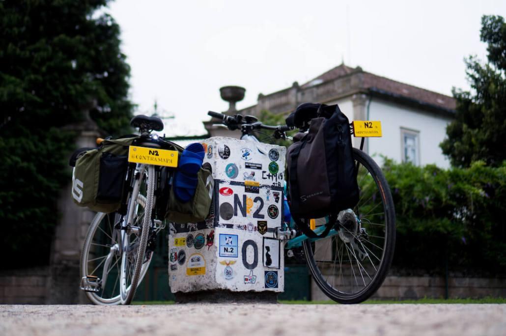 estrada nacional 2 de bicicleta