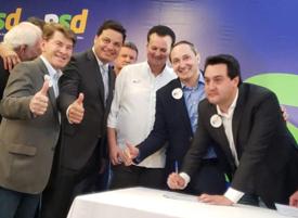 PSD filia ex-prefeito de Bandeirantes