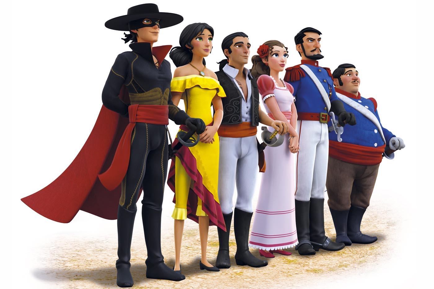 Las crónicas del Zorro