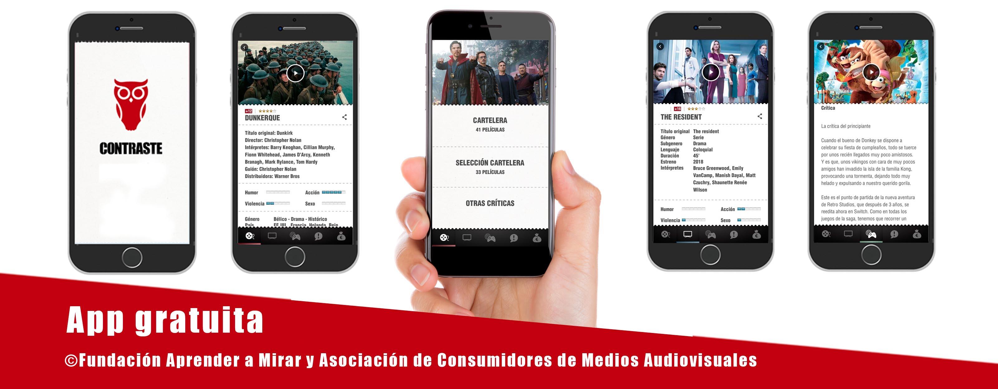 App Criticas Cine Contraste