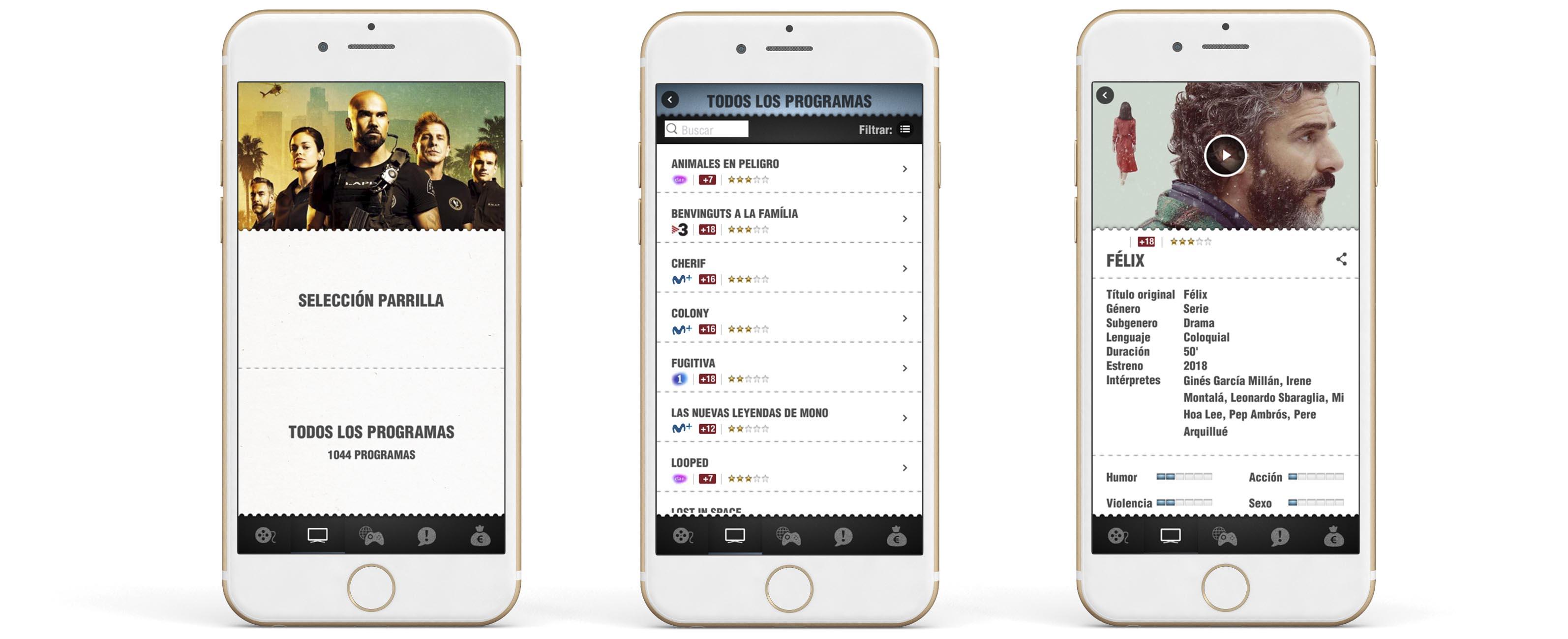 App Criticas TV Contraste