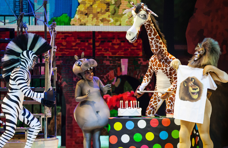Análisis Madagascar Teatro Musical 2