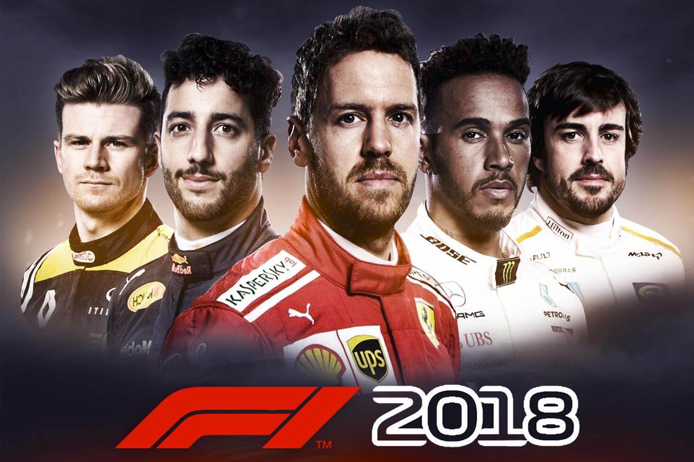 Analisis F1 2018 PS4