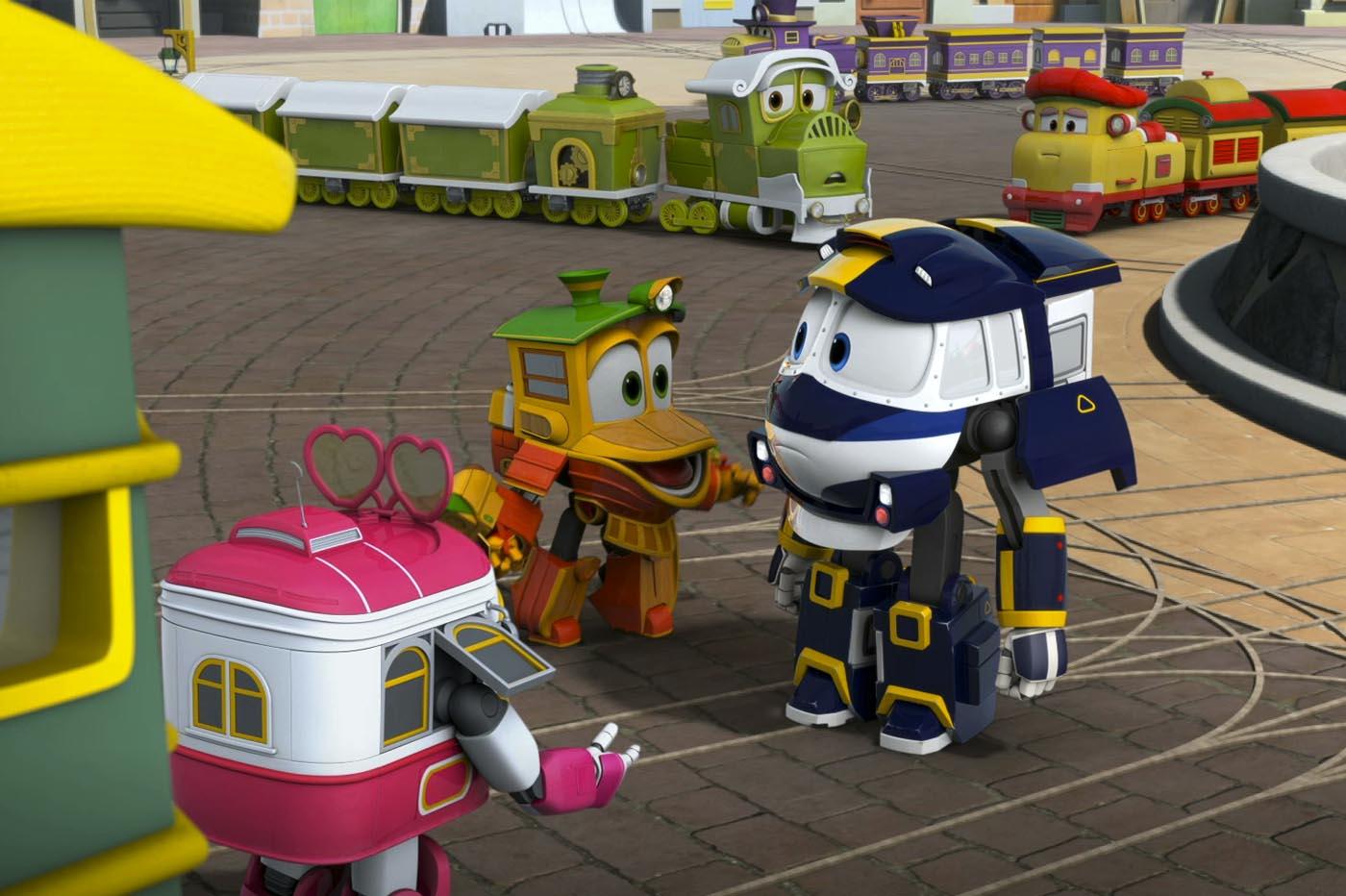 Critica Robot trains