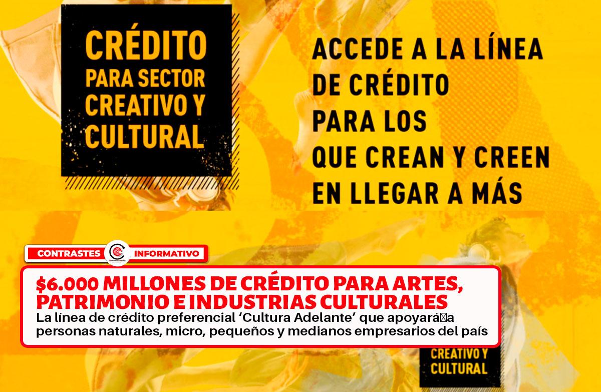 creditos cultura
