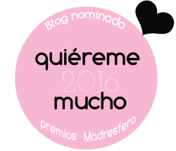 Blog nominado Premios Madresfera 2016