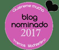 Blog nominado Premios Madresfera 2017. Categoría Educación