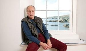 «Il est pas que je me sens chez moi ici - je ne me sens pas à sa place»: Richard Ford dans la maison qu'il loue chaque automne à Clifden, en Irlande. Photo: Karen Robinson pour l'observateur