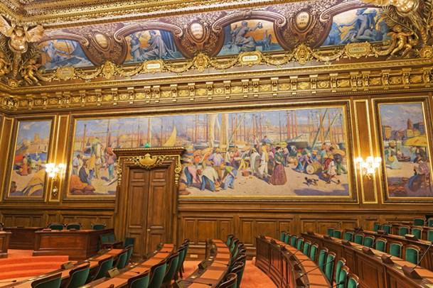 salle d'assemblée générale