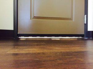 exterior door gap mosquito
