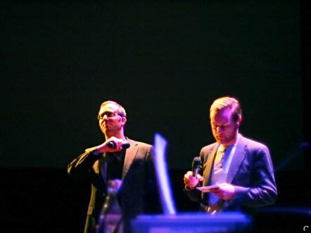 Presentatoren Matthijs Dierckx en Eric Bartelson