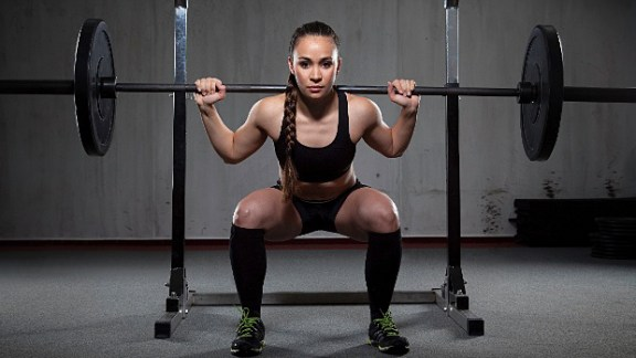 female back squat