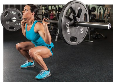 women back squat