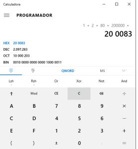 Calculo de entradas ADC en PIC