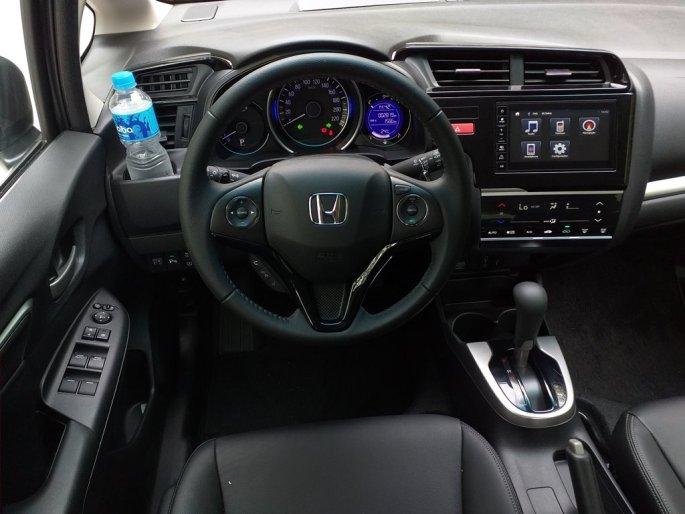 O  interior do crossover compacto da Honda faz o estilo aconchegante