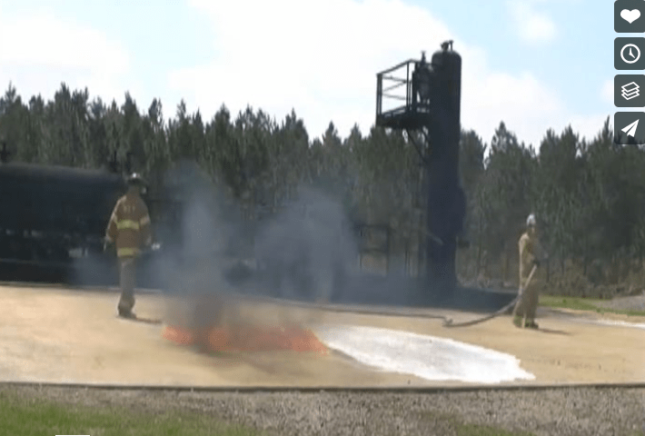Encapsulating Fuel Spills With F-500 EA