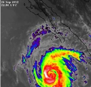 Hurricane Miriam