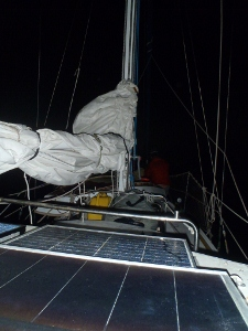 Our First Overnight Passage