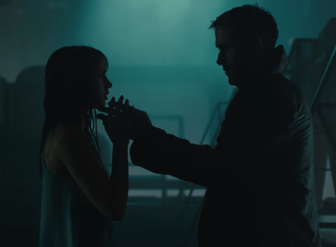 Blade Runner 2049 K and Joi