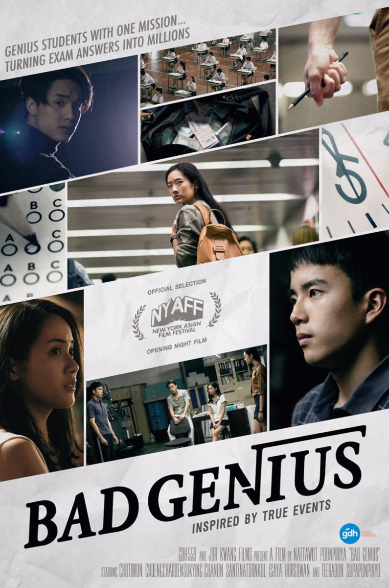 Bad Genius [Chalard Games Goeng] (2017) Mini Film Review