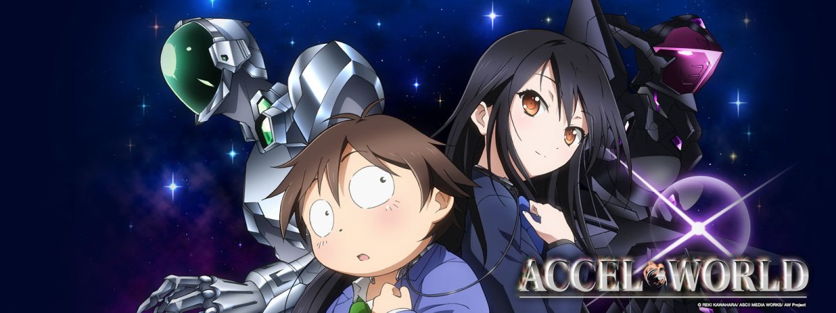 Accel World Season 1 [Akuseru Wārudo](2012) Anime Review