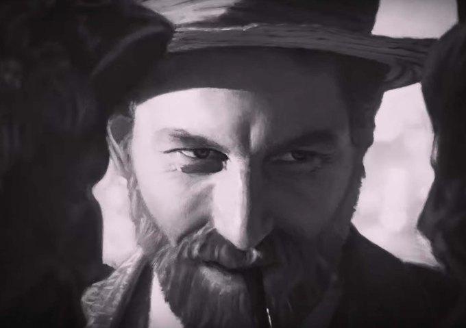 Screen Shot Loving Vincent film