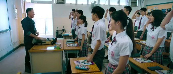 Big Brother film review Donnie Yen as teacher