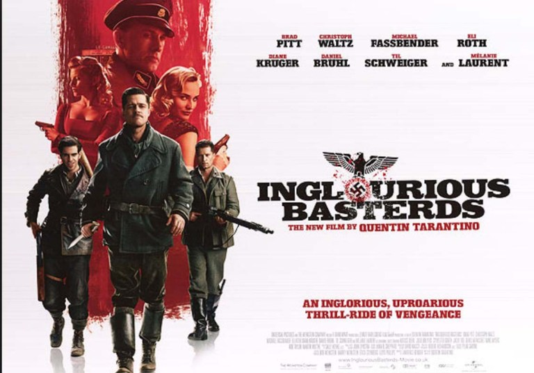 Inglourious Basterds film review post image controller companies