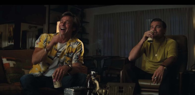 Once Upon a Time in Hollywood film review buddies