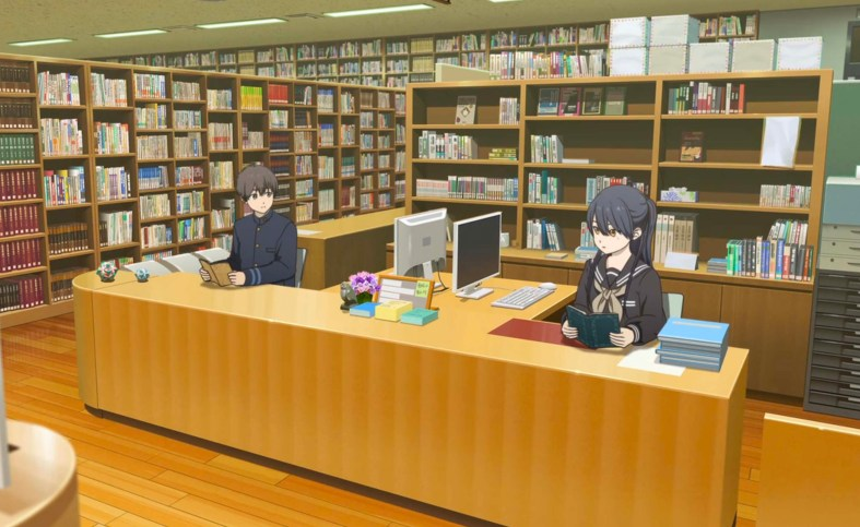 Hello World film review library romance