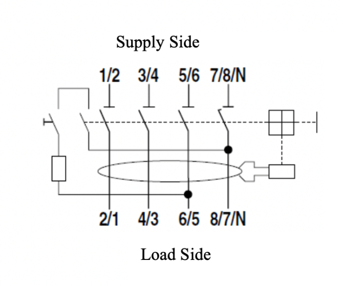 how to wire an rcd with no neutral line  control logic blog