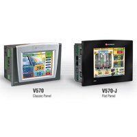 Unitronics V570 Classic Panel and Flat panel