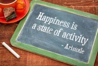 La felicidad como estado de actividad