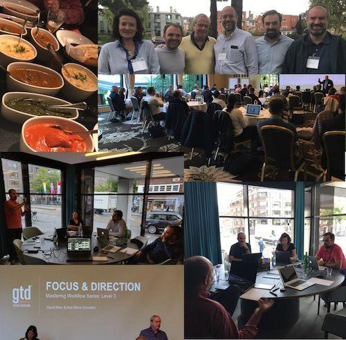 Collage con fotos de las XI Jornadas de OPTIMA LAB en Amsterdam