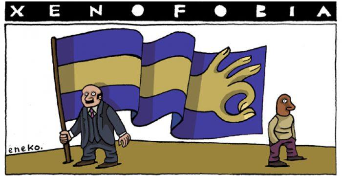 Resultado de imagem para xenofobia