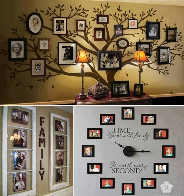Creative Ways Hang Pictures Without Frames