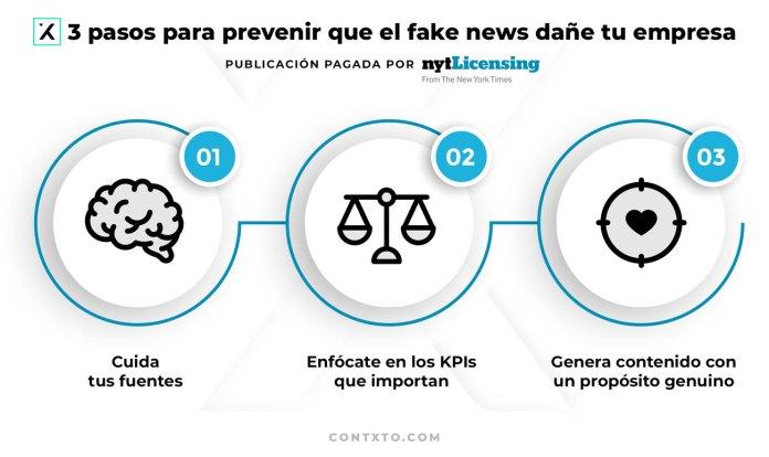 3 pasos para prevenir que el fake news dañe tu empresa