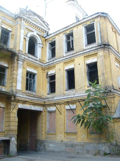 La antigua casa familiar de Sikorsky en Kiev