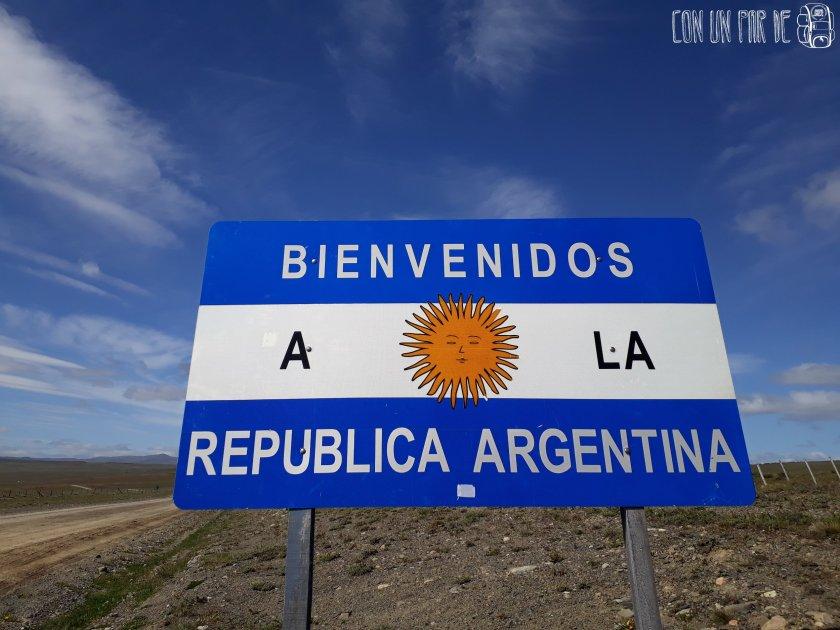 Llegamos a Argentina a pie