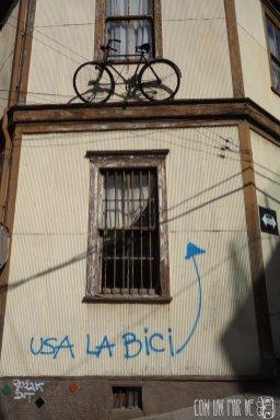 Usa la bici