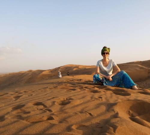 Carlota Desierto de Omán