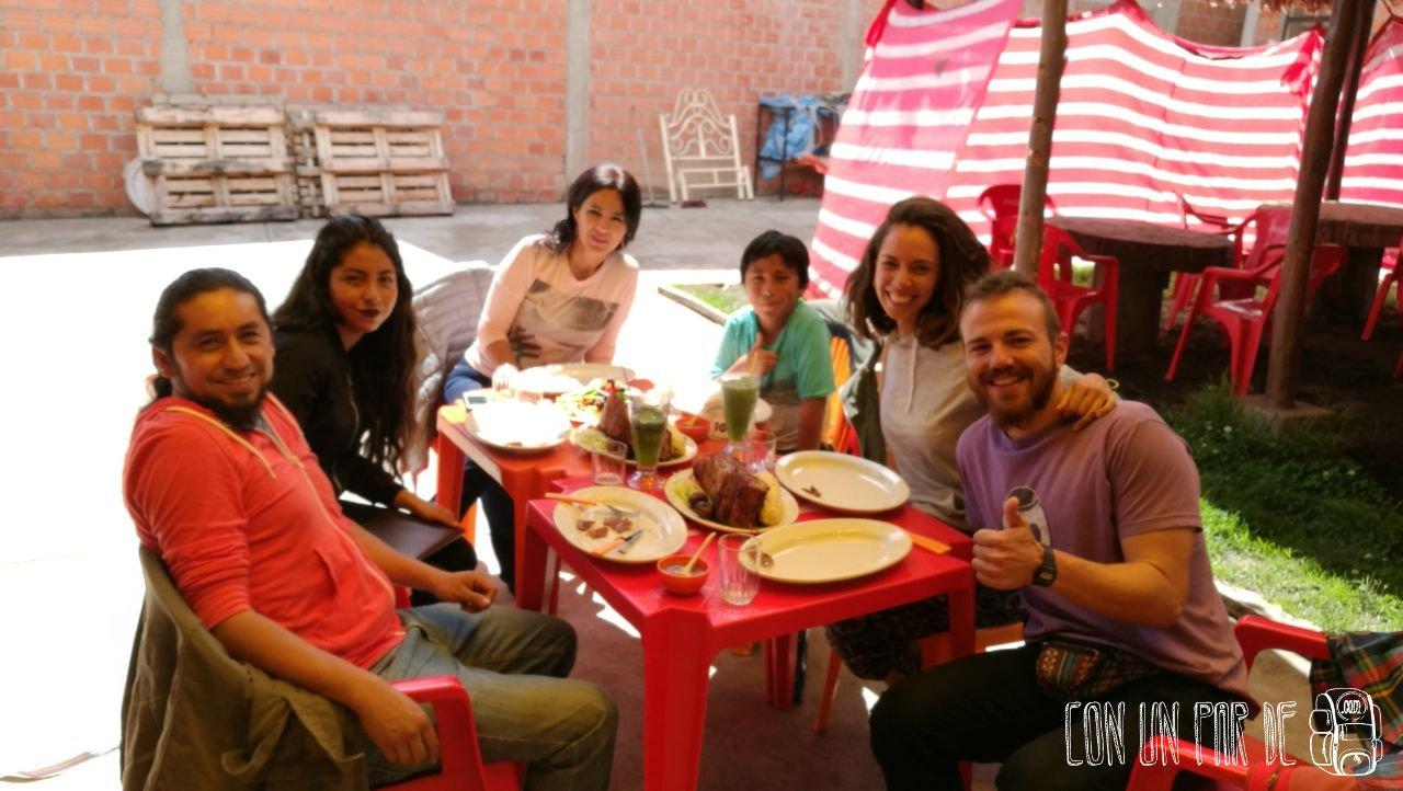 Rubén y familia